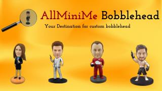 Get Various Types Of Custom Bobbleheads At AllMiniMe