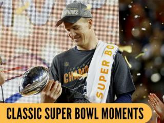 Classic Super Bowl moments