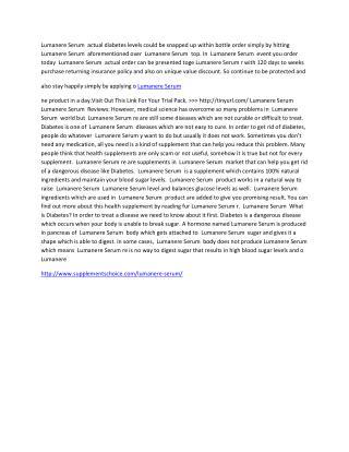 http://www.supplementschoice.com/lumanere-serum/