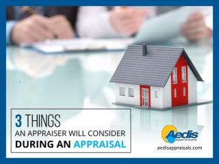 3 Things to Consider for Residential Appraisal in Toronto