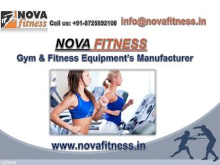 Start your gym business with Nova Fitness