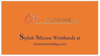 Stylish Silicone Wristbands