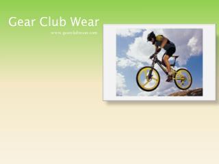 Custom Cycling Clothing - Gearclubwear.com