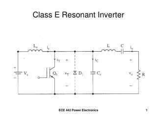 Class E Resonant Inverter