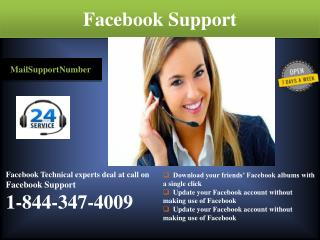 Don't wait, Dial 1-844-347-4009 Facebook Support Immediately