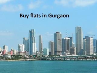 Buy flats in Gurgaon