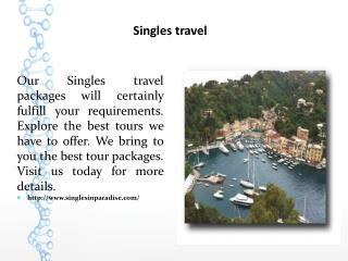 Singles travel