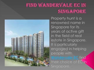 Find Wandervale EC In Singapore