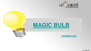 Magic Bulb by I-solarlite