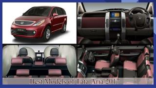 Best Models of Tata Aria 2017