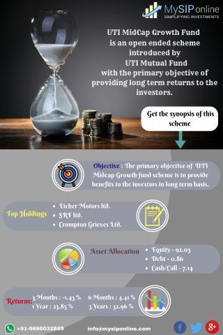 Grow Money With UTI Midcap Growth