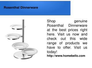 Rosenthal Dinnerware