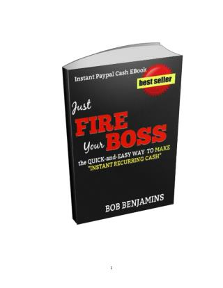 Instant Paypal Cash eBook-Email Processing Home Business