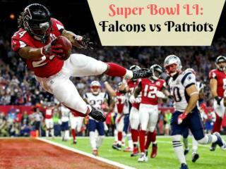 Super Bowl LI: Falcons vs Patriots