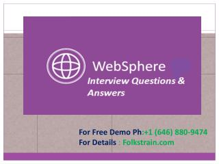 WebSphere Online Training