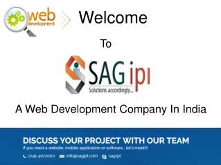SAGIPL - Web Development Company in India