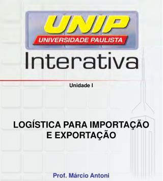 Logística para Importação e Exportação