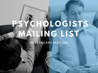 psychologists email lists