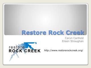 Restore Rock Creek