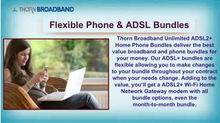 Explore ADSL Plans  |  Thorn  Broadband