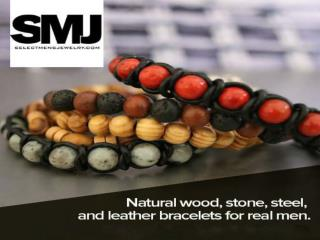 Men's Leather Bracelets Braided | Men's Bracelets USA