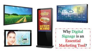Best Digital Signage Servicesin Dubai