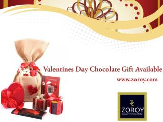 Buy Valentine's Day Chocolate Gifts Online @ Zoroy