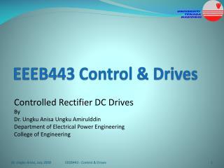 EEEB443 Control  Drives
