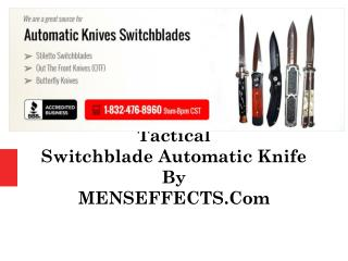 Tactical Switchblade Automatic Knife By MENSEFFECTS