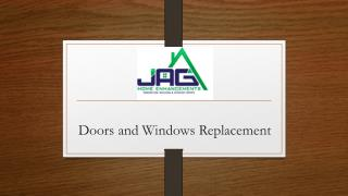 Doors and Windows Replacement