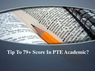 Tips To Score 8 Bands In PTE Academic