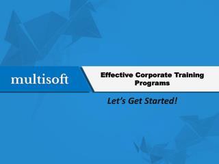 corporate training programes in Noida
