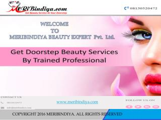Beauty Services At Doorstep