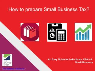 How to prepare small business Tax?