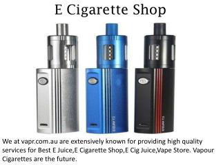 E Cigarette Shop - vapr.com.au