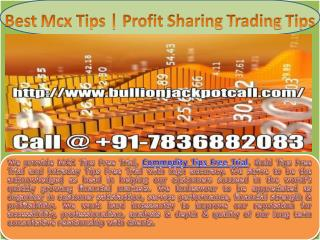 Best Mcx Tips | 100% Accurate Commodity Tips