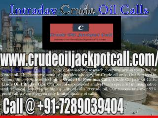 Crude Oil Tips Free Trial on Mobile
