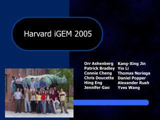 Harvard iGEM 2005