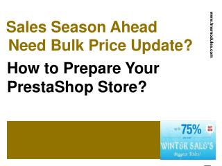Specific Prices Mass Update PrestaShop Module
