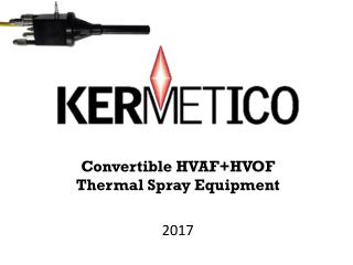 HVOF Equipment for Thermal Spraying Metal and Carbide Coatings