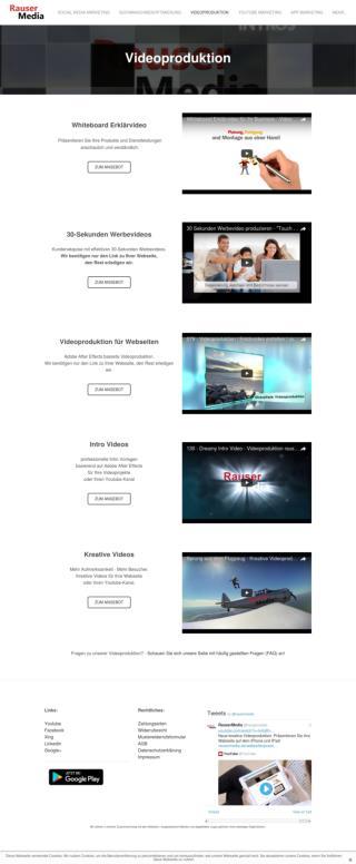 Erklärvideos, Whiteboard Videos - Videoproduktion rausermedia.de