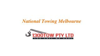 National Towing Melbourne