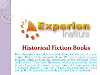 Historical Fiction Books