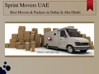 Best Movers and Packers in Abu Dhabi & Dubai