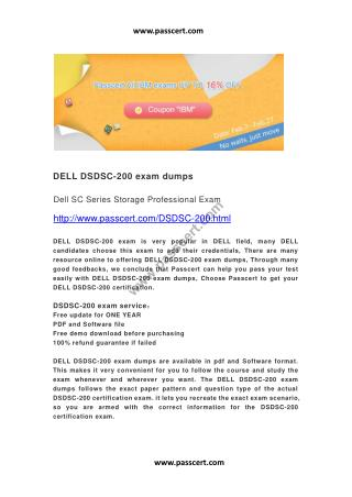 DELL DSDSC-200 exam dumps