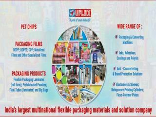 UFLEX India's Largest Flexible Packaging Company