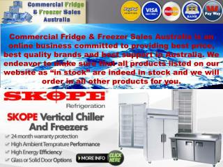 The Best Seller Commercial Fridge & Freezer