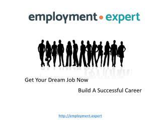 Employment in Various Job Categories at Employment.Expert