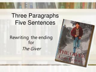 Three Paragraphs Five Sentences