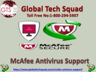 Free Mcafee Antivirus Support InUSA/UK: 1-800-294-5907